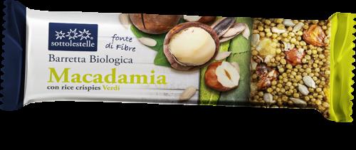 Barretta Macadamia con Crisp Verdi