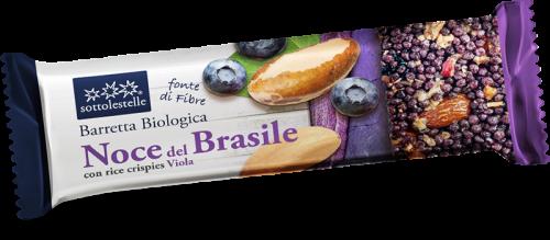 Barretta Noce del Brasile con Crisp Viola