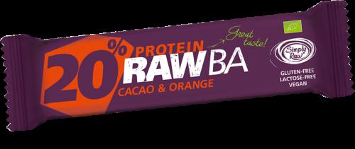 Barretta Proteica Cacao e Arancia