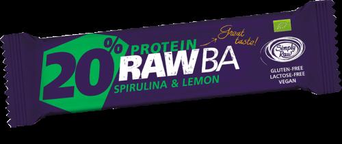 Barretta Proteica Spirulina e Limone