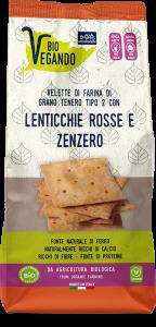 BioVegando Velette con Lenticchie Rosse e Zenzero