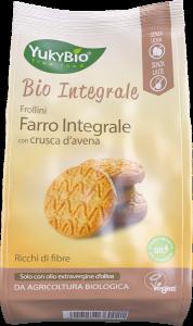 Biscotti di Farro Integrale con Crusca di Avena