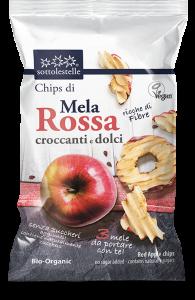 Chips Croccanti di Mela Rossa