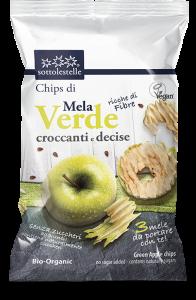 Chips Croccanti di Mela Verde