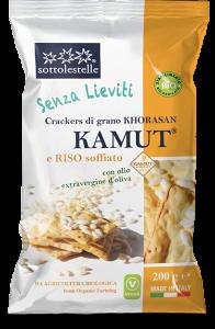 Crackers Khorasan Kamut® e Riso Soffiato