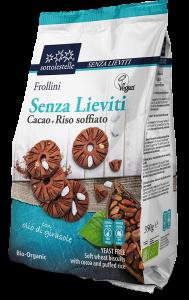 Frollini al Cacao e Riso Soffiato