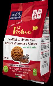 Frollini di Avena con Crusca di Avena e Cacao