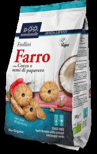 Frollini di Farro con Cocco e Semi di papavero