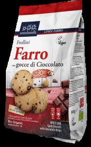 Frollini di Farro con Gocce di Cioccolato