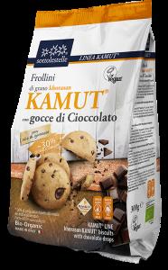 Frollini khorasan Kamut®con Gocce di Cioccolato