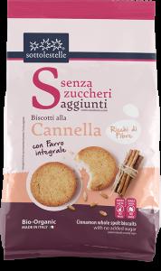 Senza Zuccheri Biscotti di Farro Int alla Cannella