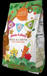 Stella&Stello Biscotti con Mela e Carota