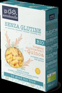 Tortiglioni Multicereali con Quinoa Senza Glutine